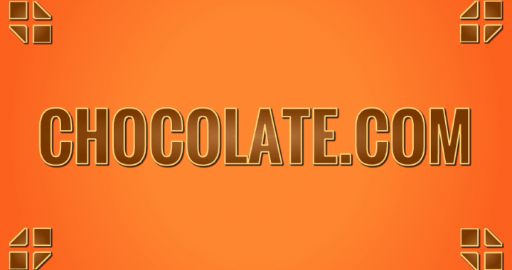 CHOCOLATE.com CHOCOLATE .com domain name for sale at Sedo